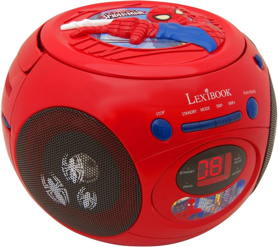 lexibook cd player mit radio ultimate spider man online kaufen otto. Black Bedroom Furniture Sets. Home Design Ideas