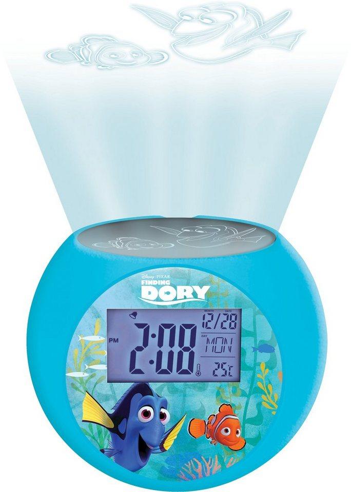 Lexibook, Radiowecker mit Nachtlicht, »Disney Pixar, Finding Dorie«