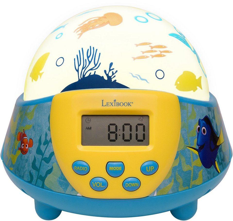 Lexibook Nachtlicht mit Wecker und Radio, »Disney Pixar, Findet Dorie«
