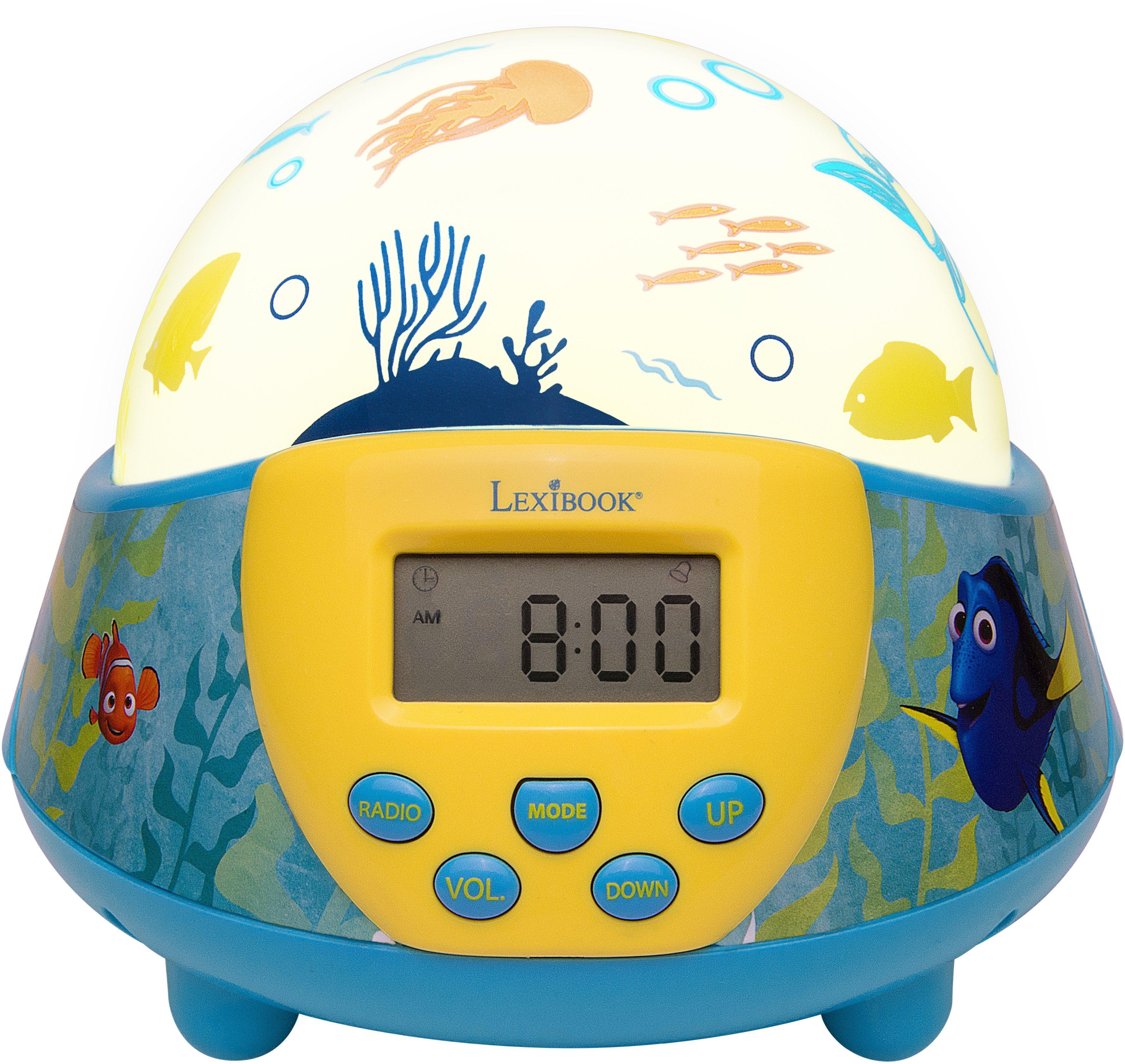 Lexibook, Nachtlicht mit Wecker und Radio, »Disney Pixar, Findet Dorie«