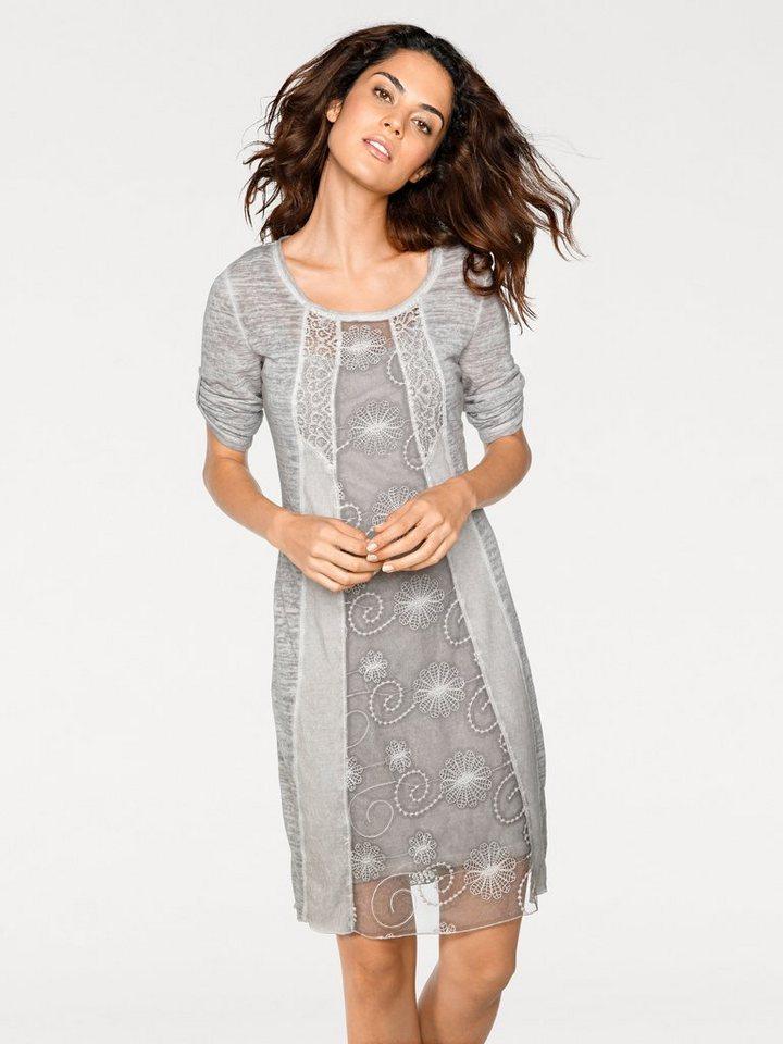 dd9f901cd3b5fc heine CASUAL Spitzenkleid aus Jersey online kaufen | OTTO