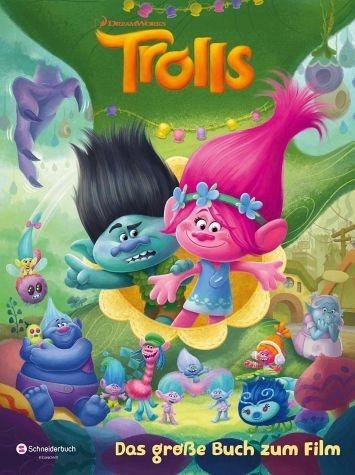 Gebundenes Buch »Trolls - Das große Buch zum Film«