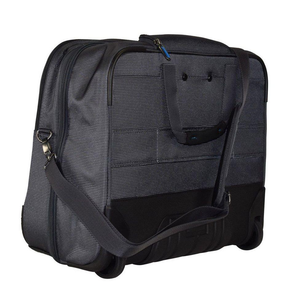 Travelite CrossLITE 2-Rollen Business Trolley 47 cm Laptopfach in anthrazit