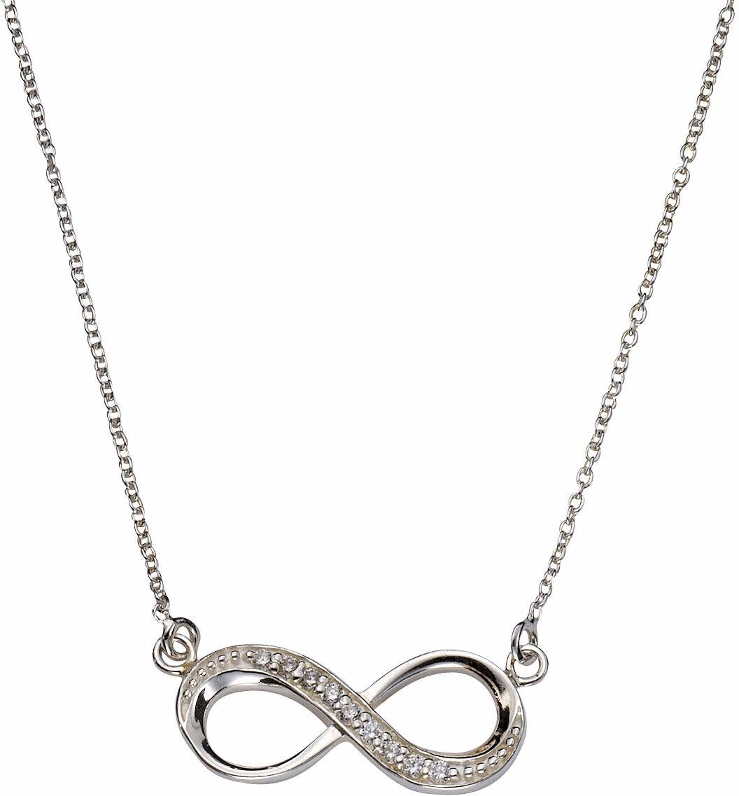 Firetti Silberkette »Infinity«, mit Zirkonia