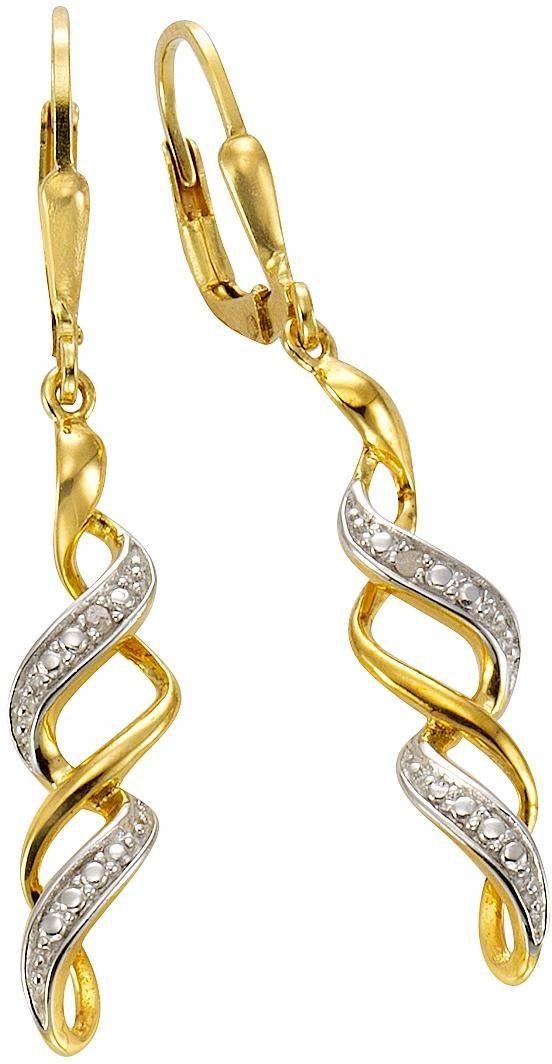Firetti Paar Ohrstecker, mit Diamanten