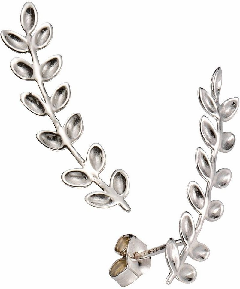 Firetti Paar Ohrstecker »Blätter« in Silber 925