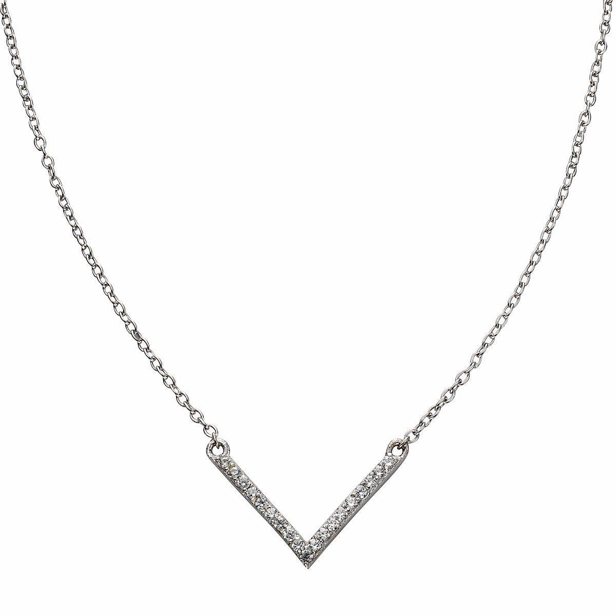 Firetti Silberkette, mit Zirkonia