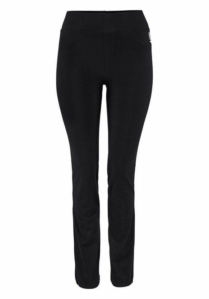H.I.S Jazzpants in schwarz