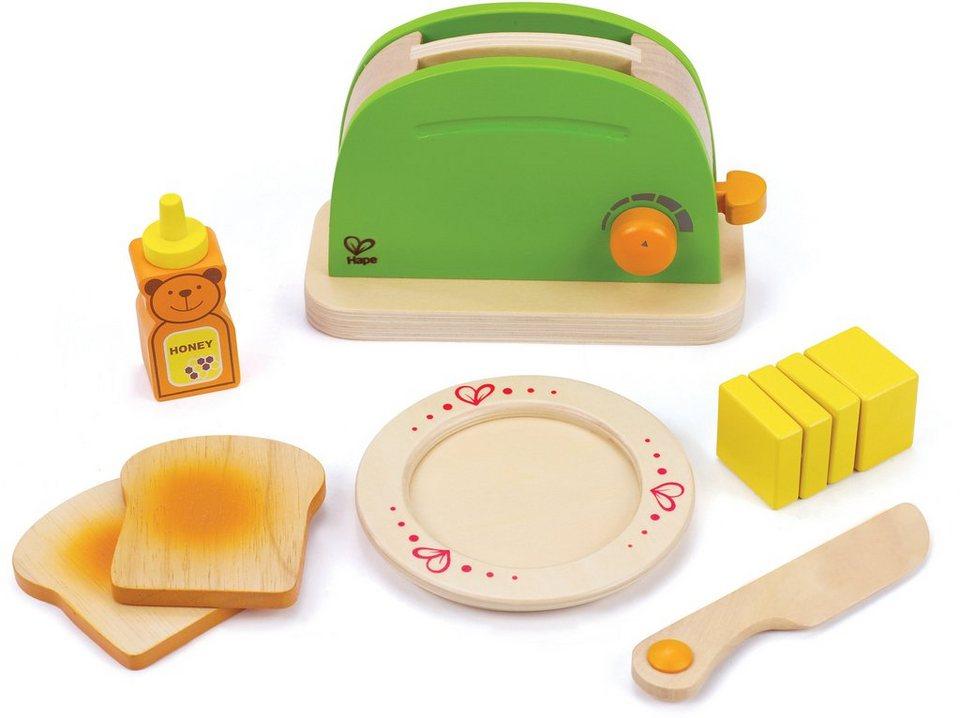 hape zubehör aus holz für kinderküche pop up toasteronline