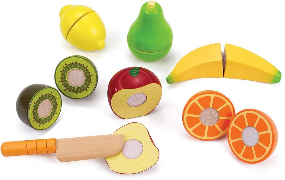 Hape Spiellebensmittel aus Holz,  Frische Früchte
