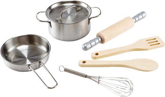 Hape Kinder-Küchenset »Kochset für Küchenchefs«, (7-tlg)