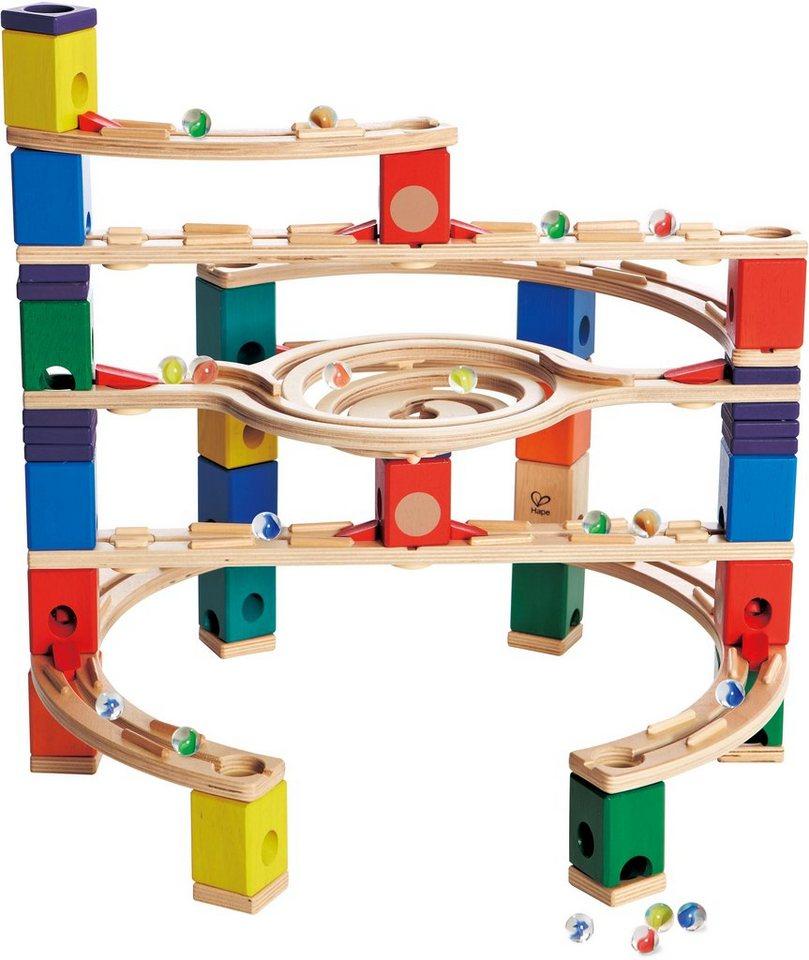 hape kugelbahn aus holz quadrilla loop de loop otto. Black Bedroom Furniture Sets. Home Design Ideas
