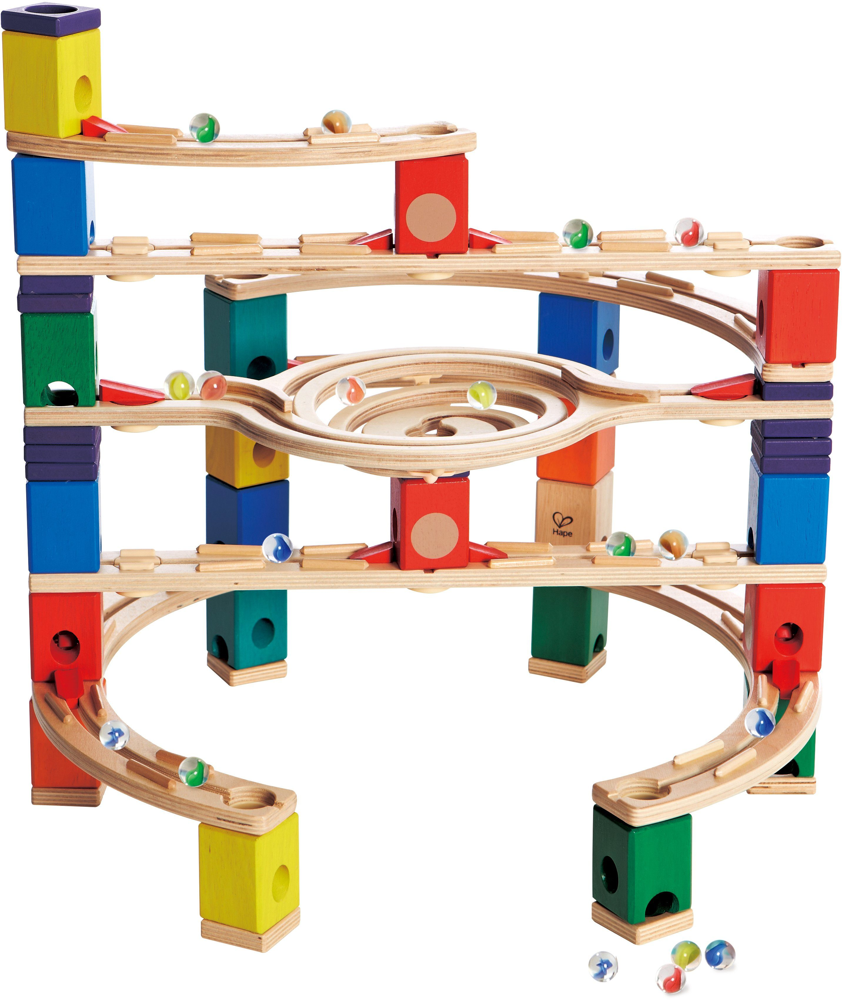 Hape Kugelbahn aus Holz, »Quadrilla Loop de Loop«