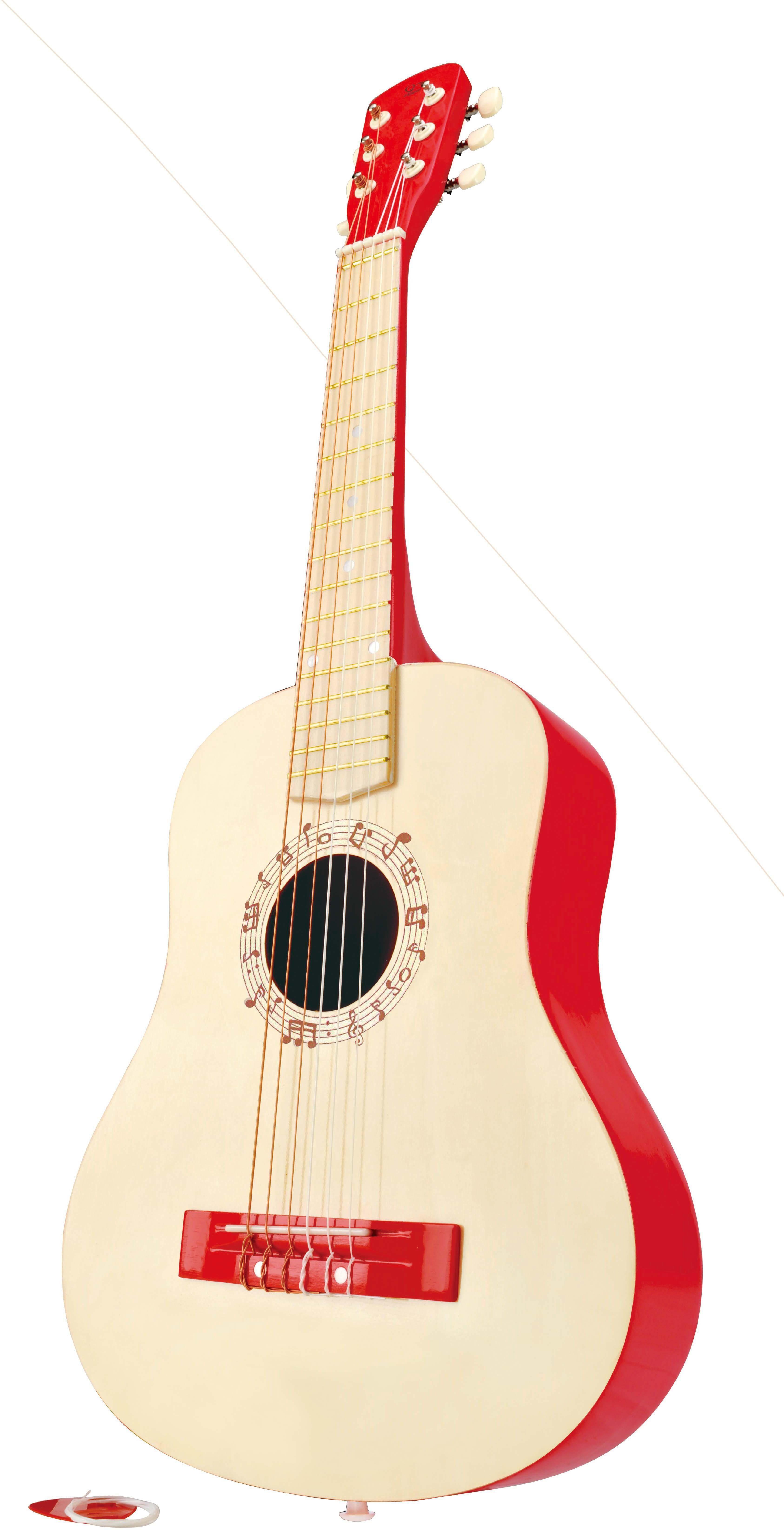 Hape Kindergitarre, »Gitarre in Rot«