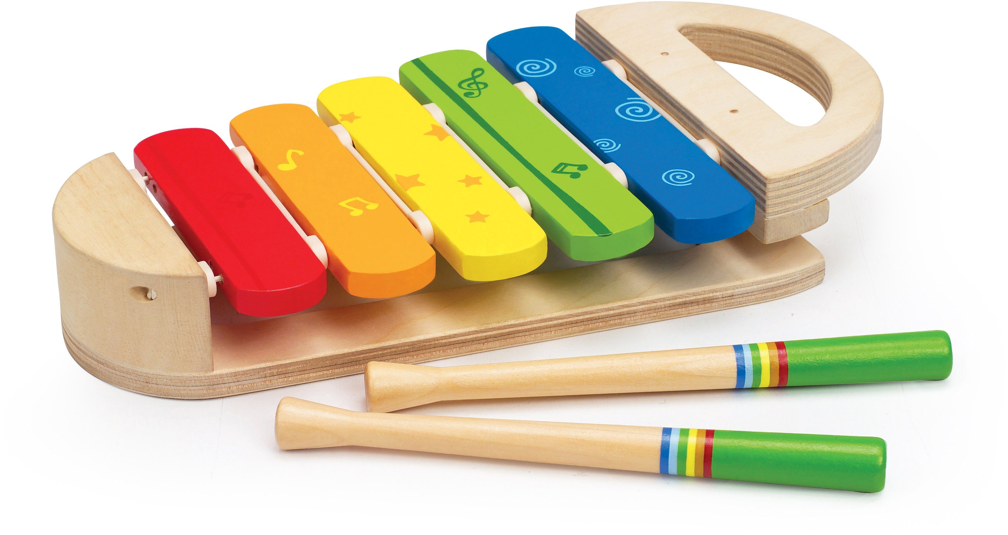 Hape Glockenspiel aus Holz, »Regenbogen Xylophon«