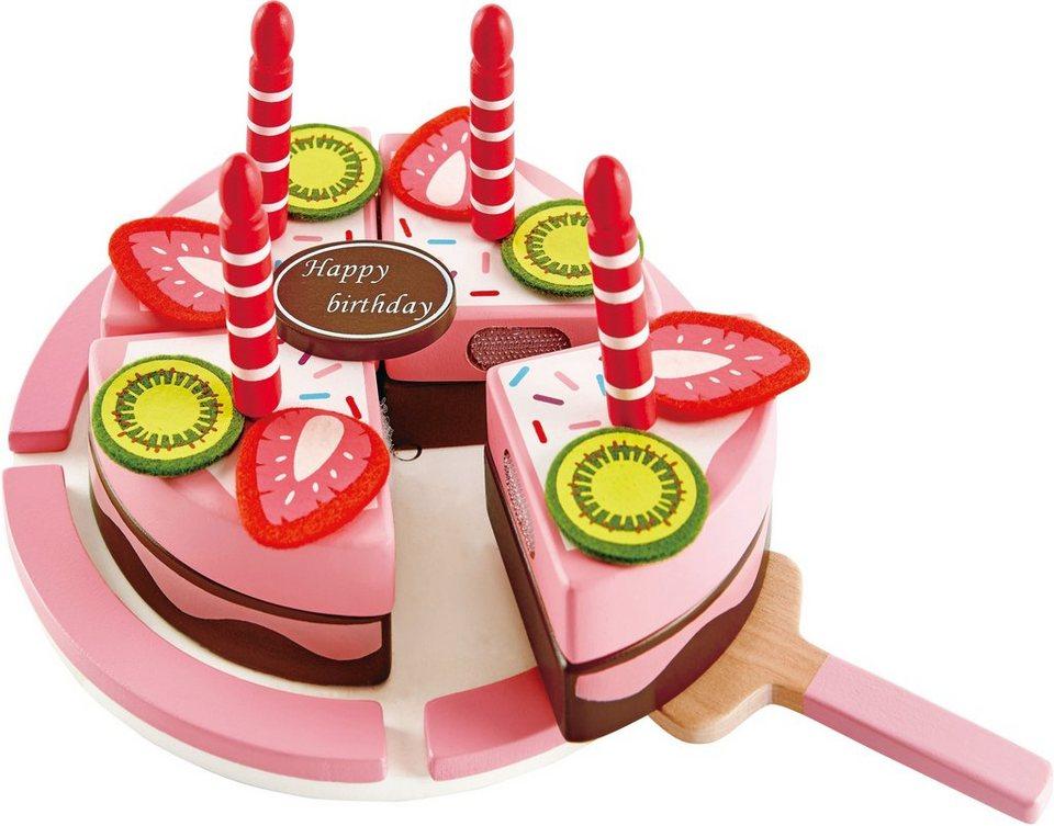 Hape Spiellebensmittel aus Holz, »Geburtstagskuchen ...