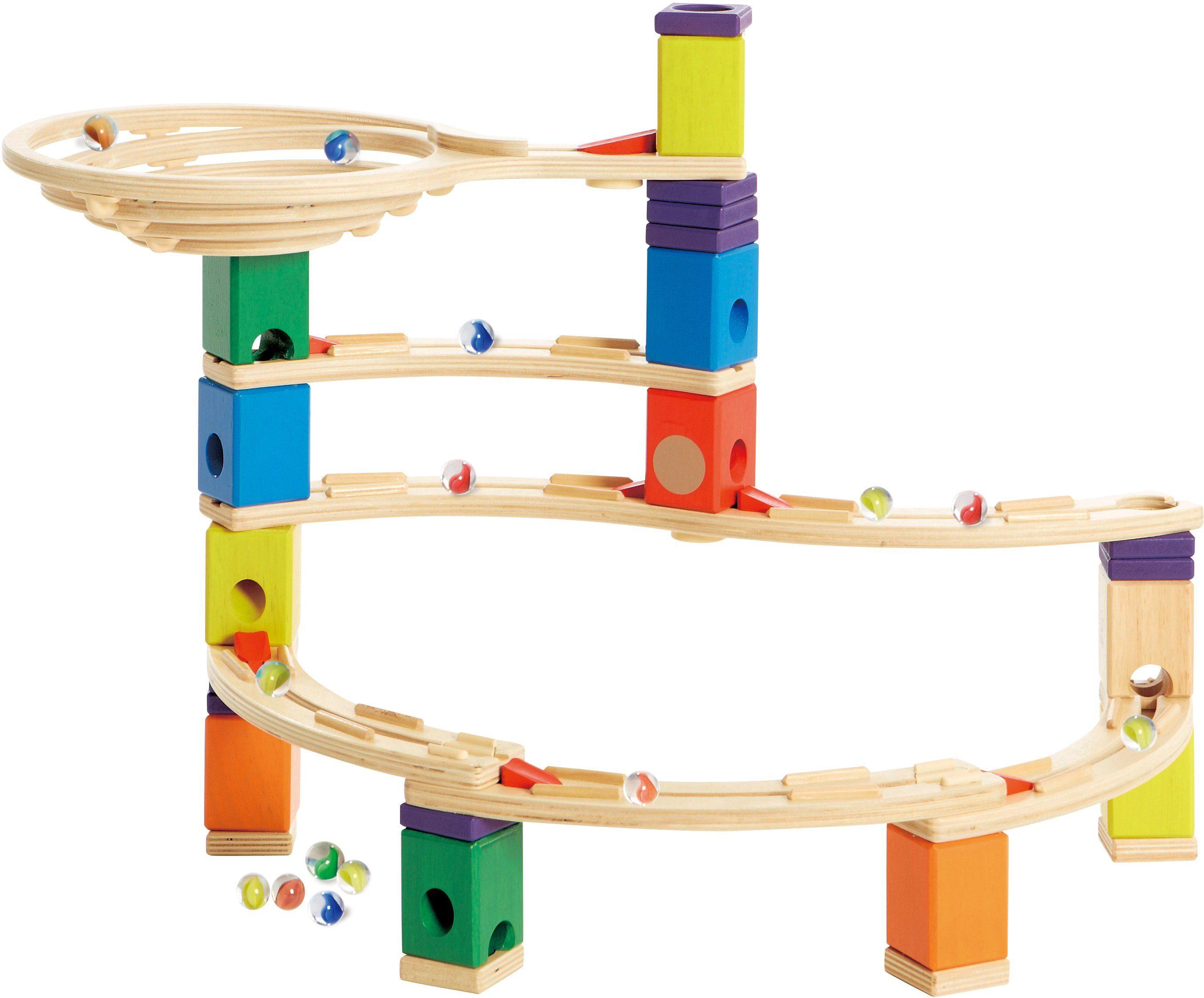 Hape Kugelbahn aus Holz, »Quadrilla Whirlpool«