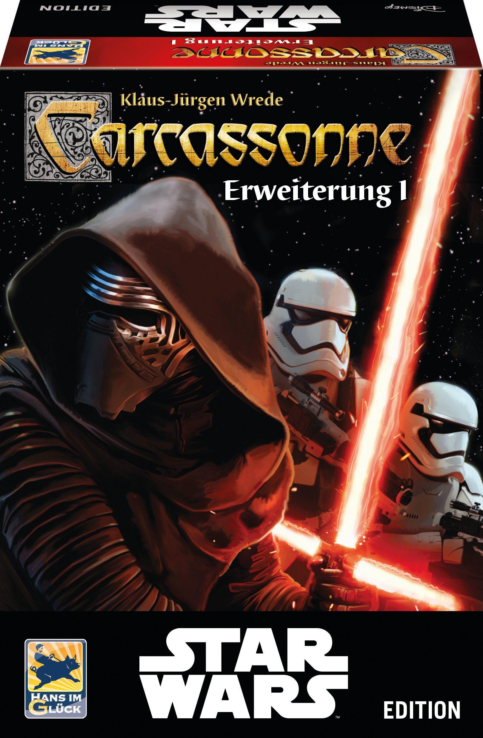 Hans im Glück Strategiespiel, »Disney Star Wars™, Carcassonne Erweiterung 1«