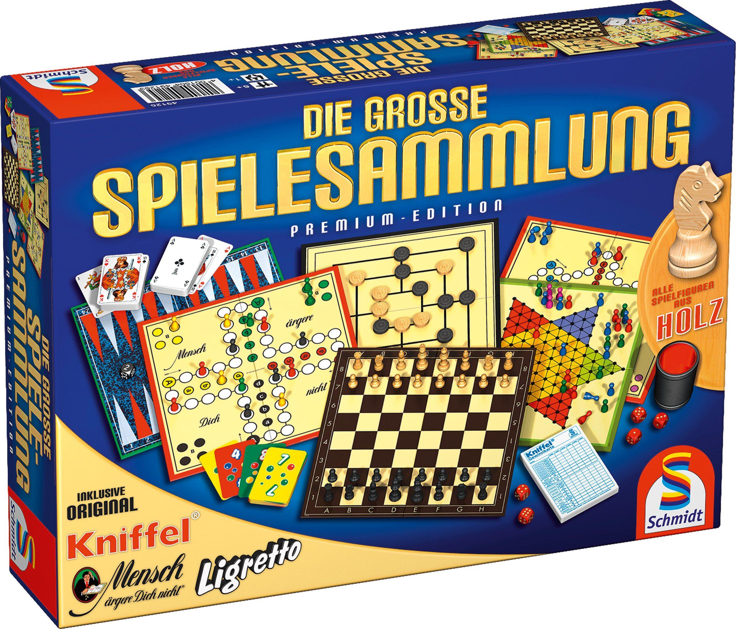 Schmidt Spiele Familienspiel, »Die große Spielesammlung«