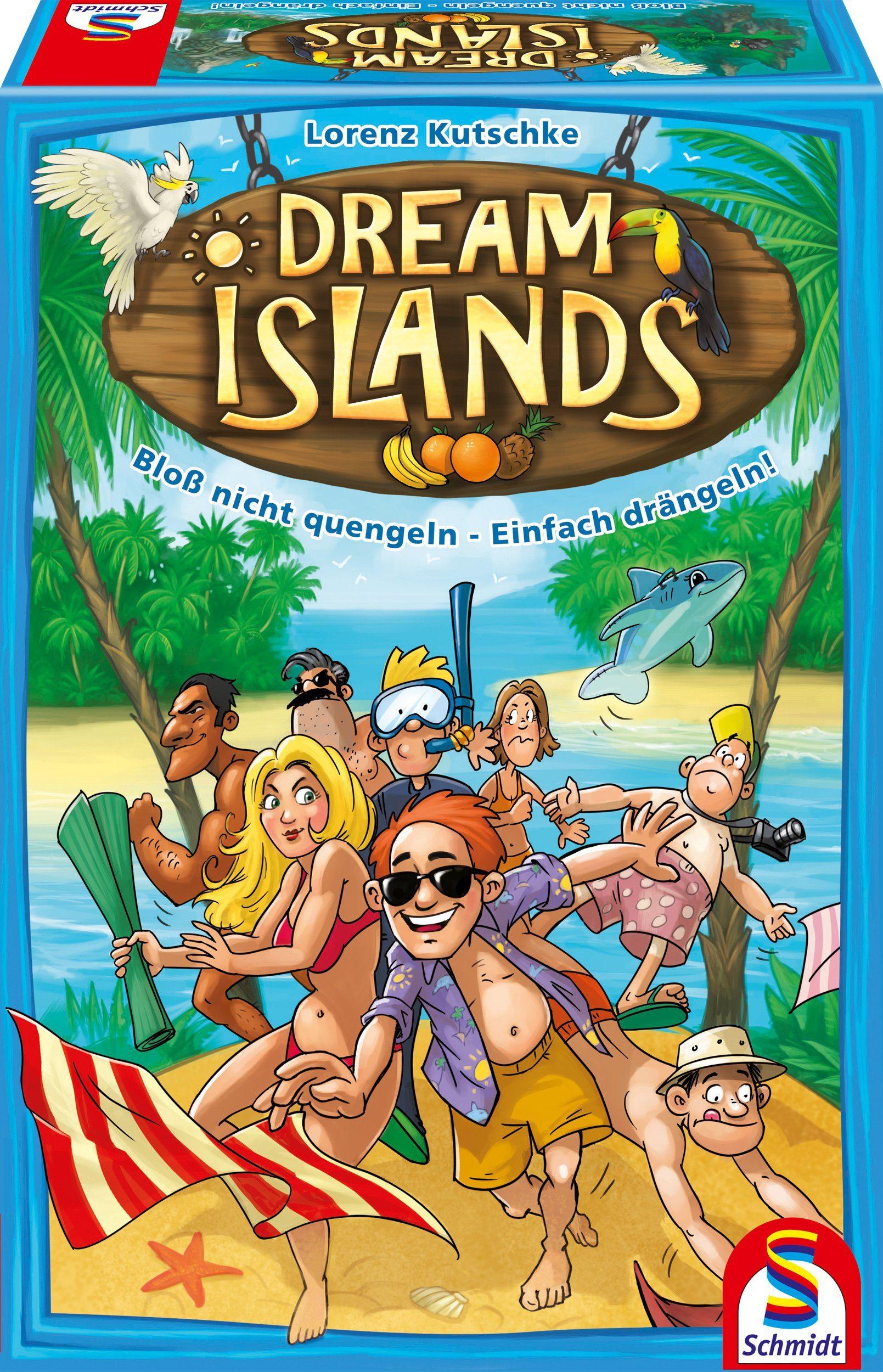 Schmidt Spiele Gesellschaftsspiel, »Dream Islands«
