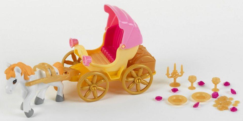 Klein Spielfiguren, »Princess Coralie Kutsche mit Pferd und Schatzkiste«