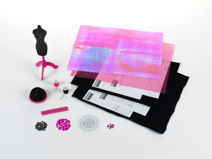 Klein Kreativ Set, »Nähset New York mit Material, Anleitung und Schnittmuster«