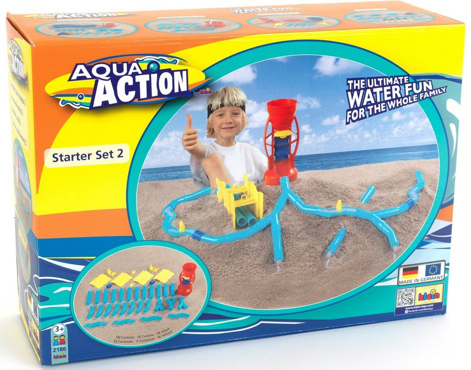 Klein Sandspielzeug Wasserbahn, »Aqua Action Starter Set 2«