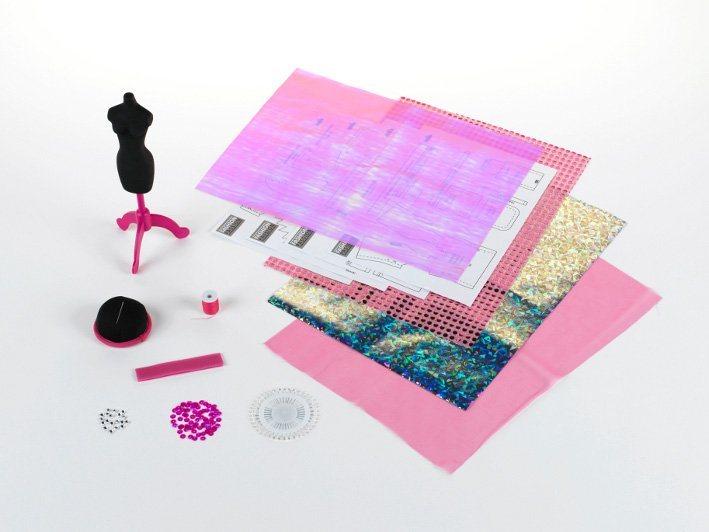 Klein Kreativ Set, »Nähset London mit Material, Anleitung und Schnittmuster«