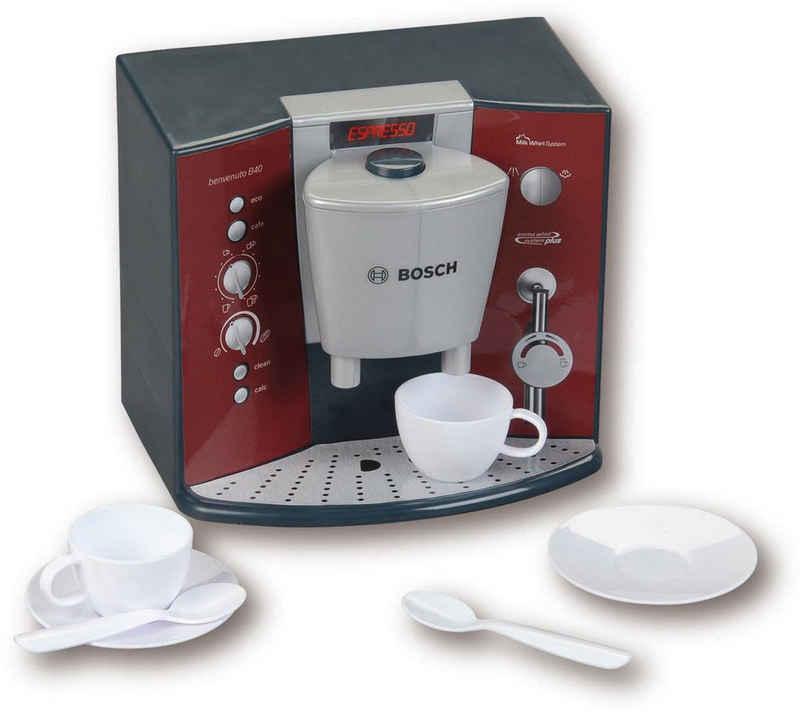 Klein Kinder-Kaffeemaschine »Bosch Kaffeemaschine mit Sound & Espressoset«, mit Soundfunktion, Made in Germany