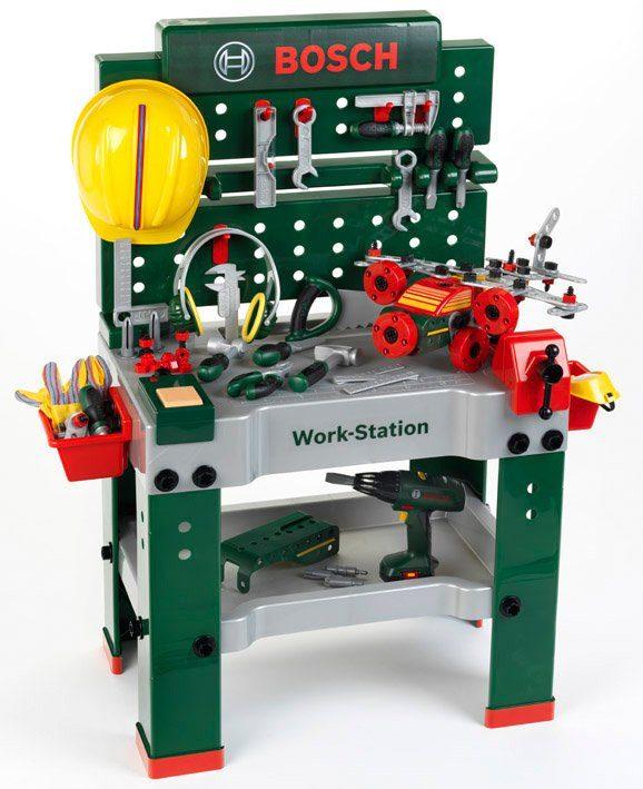 Klein Werktisch für Kinder, »Bosch Werkbank No.1 2016«