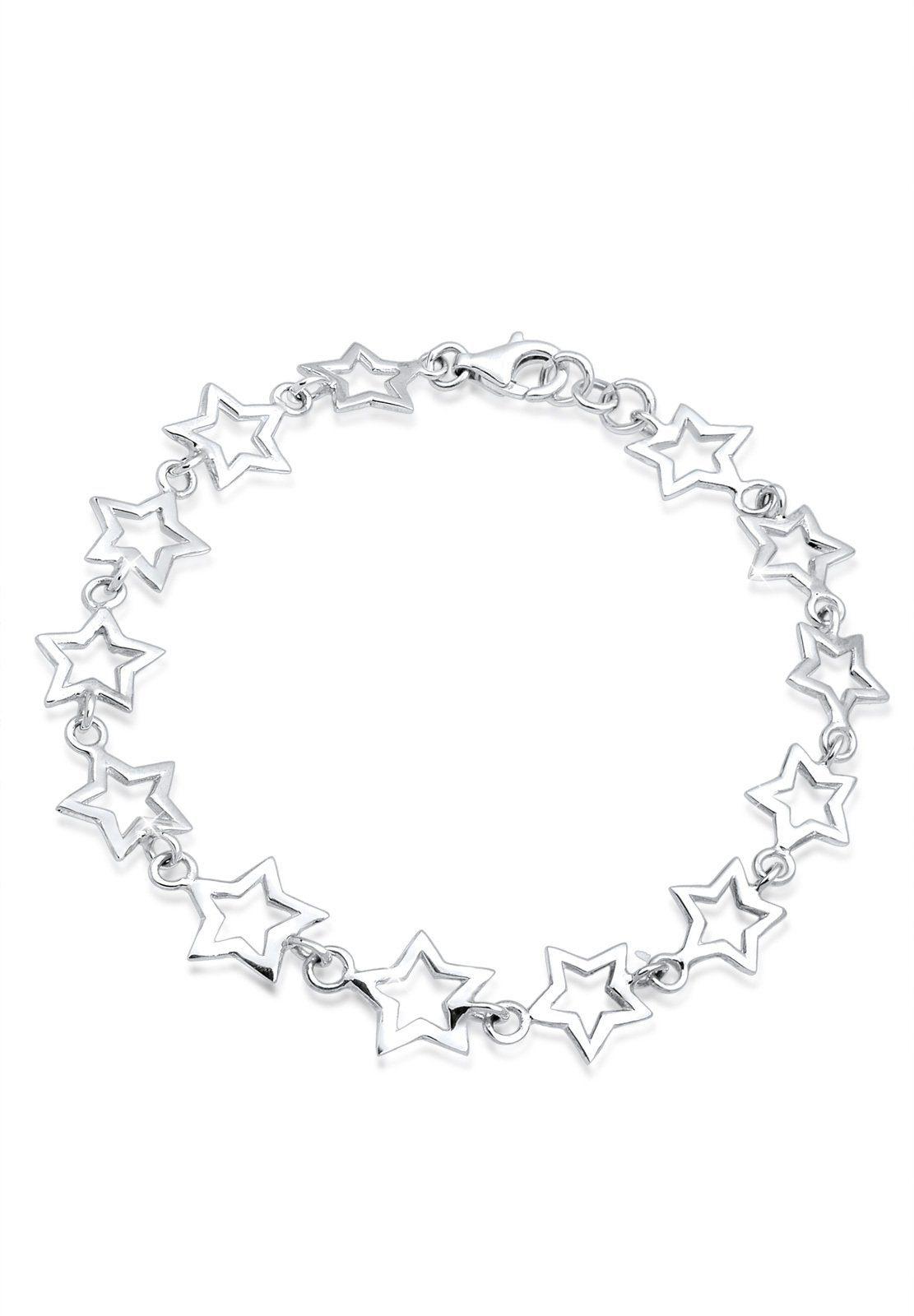 Elli Armband »Sterne 925 Sterling Silber«
