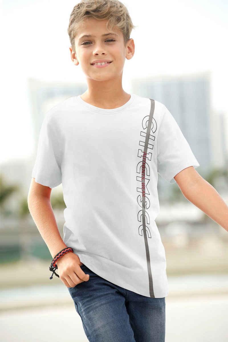 Chiemsee T-Shirt »mit seitlichem Logodruck«