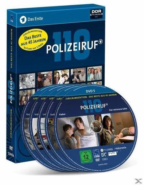 DVD »Polizeiruf Jubiläumsedition - Das Beste aus 45...«