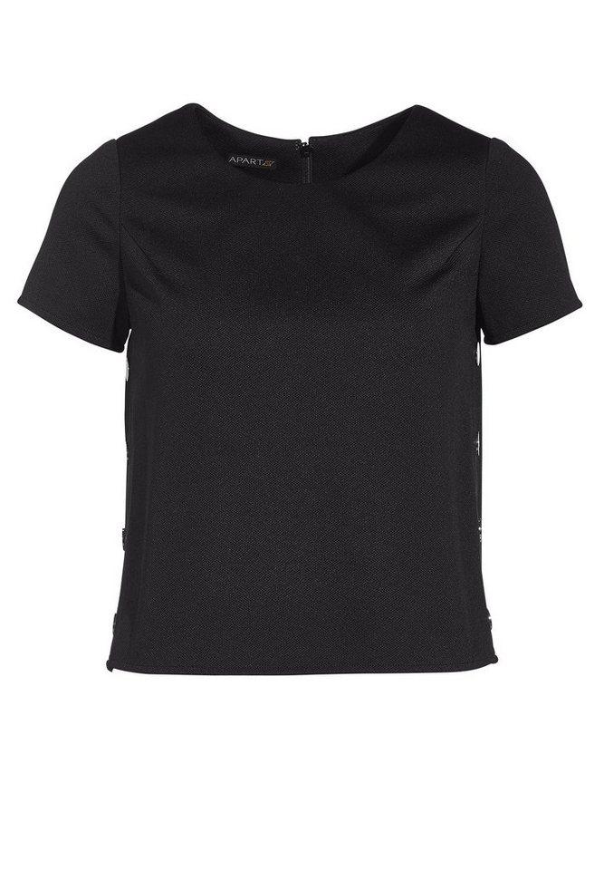 Apart Shirt in schwarz