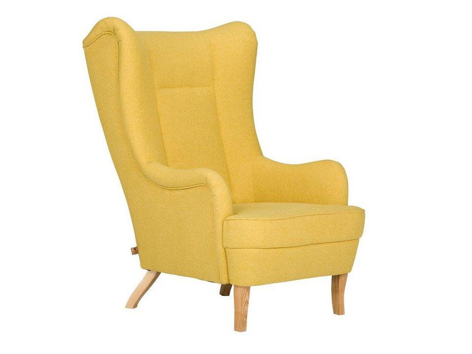massivum sessel aus flachgewebe cherson kaufen otto. Black Bedroom Furniture Sets. Home Design Ideas