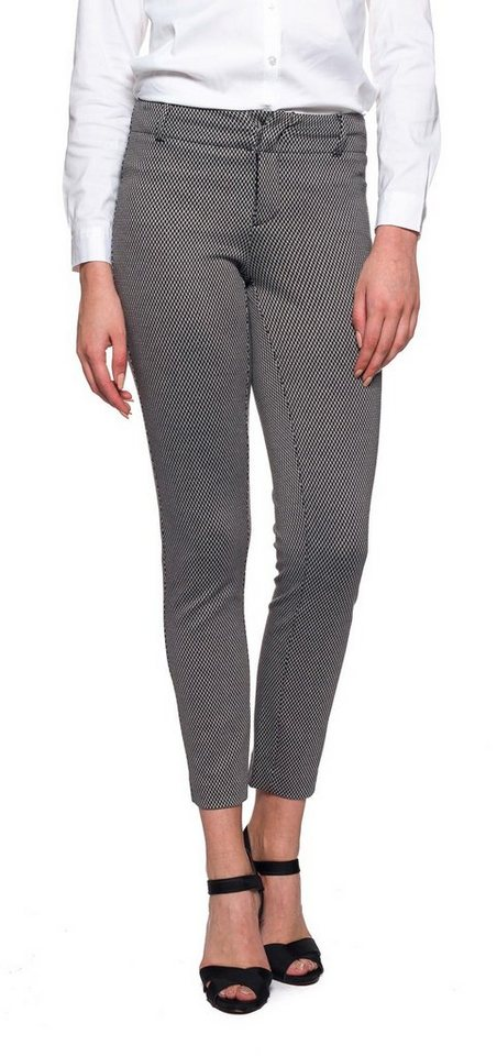 NYDJ Renee Ankle Pants in Diamond Knit Jacquar