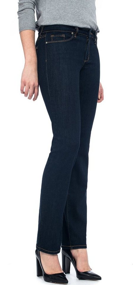 NYDJ Marilyn Straight Jeans in Larchmont Wash