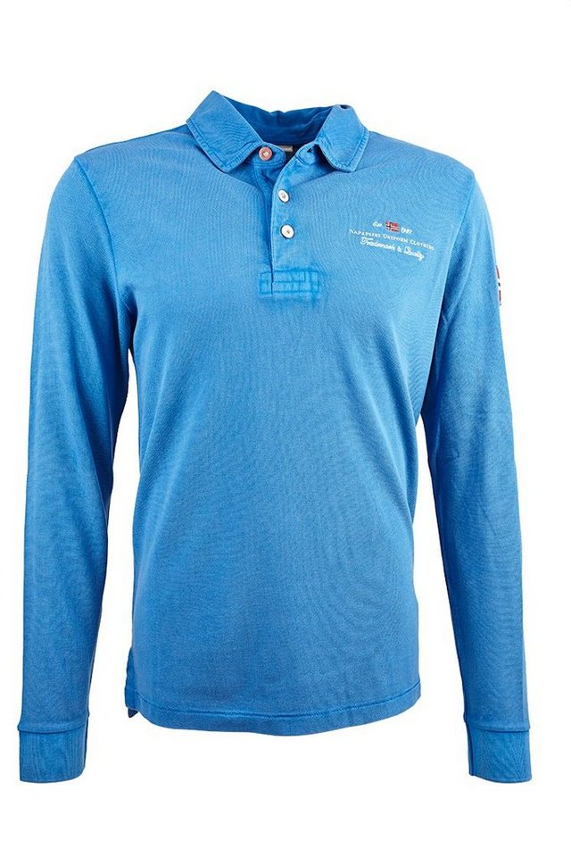 Napapijri Poloshirt »ELBAS« in blau