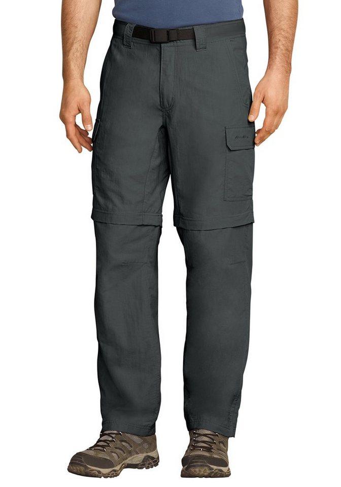 Eddie Bauer Travex® Zip-Off-Hose in Grau