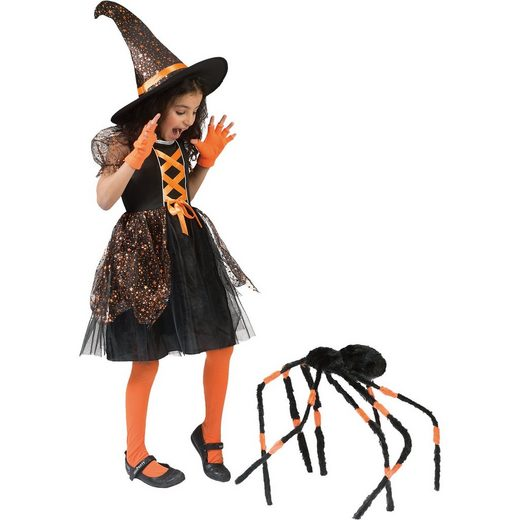 Funny Fashion Kostüm Hexenkleid, 2-tlg.