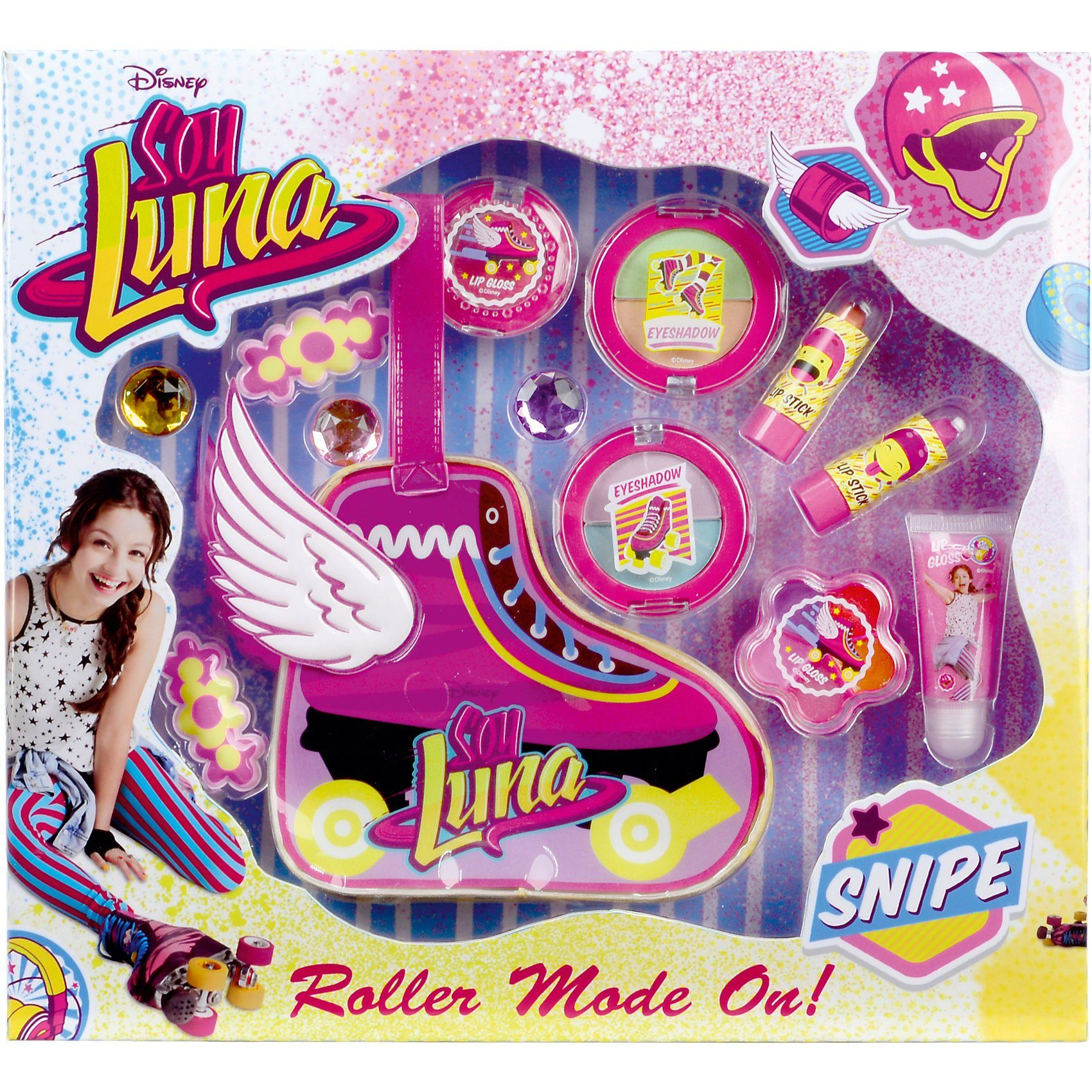 Empeak Soy Luna Make-up Täschchen in Rollschuhform