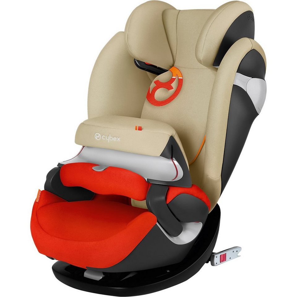 Cybex Auto-Kindersitz Pallas M-Fix, Gold-Line, Autumn Gold-Burnt R in orange