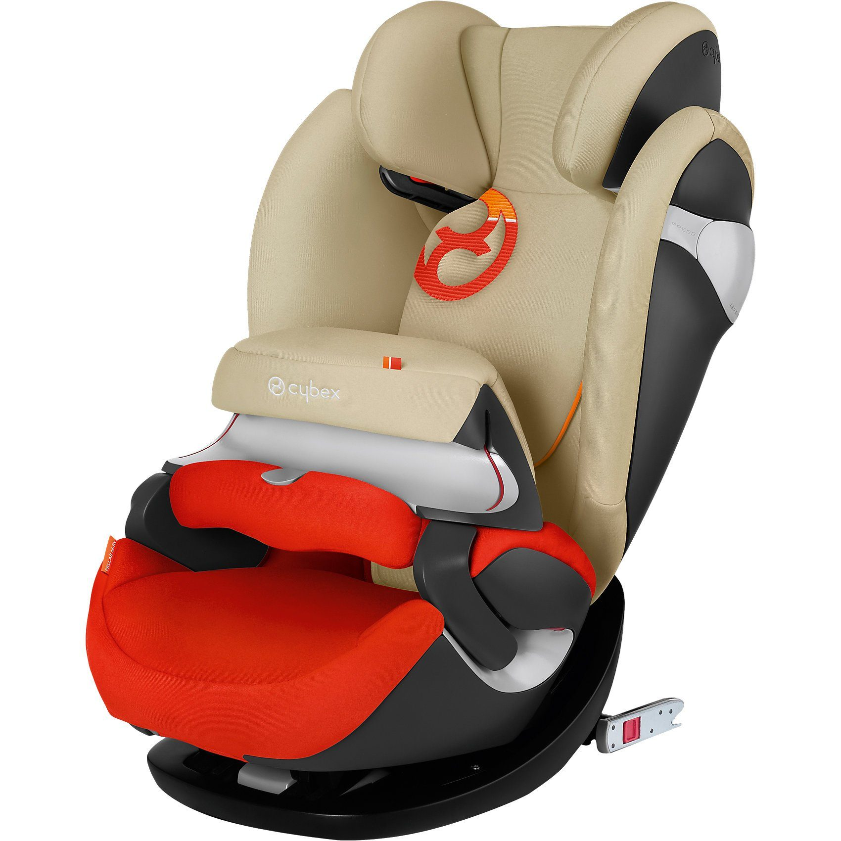 Cybex Auto-Kindersitz Pallas M-Fix, Gold-Line, Autumn Gold-Burnt R