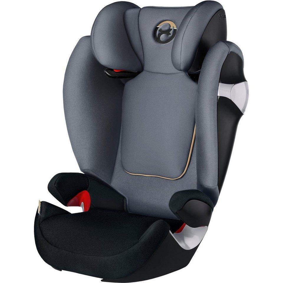cybex auto kindersitz solution m gold line graphite. Black Bedroom Furniture Sets. Home Design Ideas