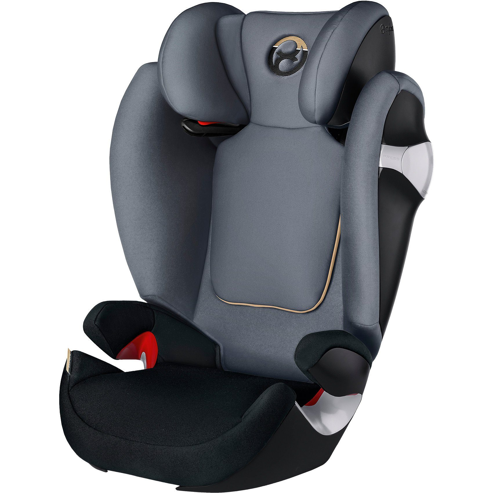 Cybex Auto-Kindersitz Solution M, Gold-Line, Graphite Black-Dark G