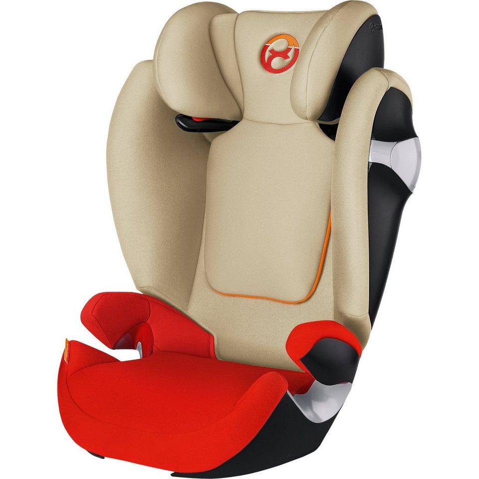 Cybex Auto-Kindersitz Solution M, Gold-Line, Autumn Gold-Burnt Red in orange