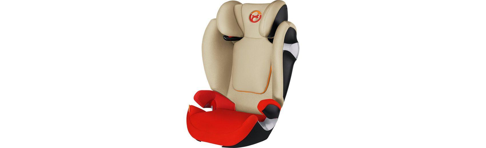 Cybex Auto-Kindersitz Solution M, Gold-Line, Autumn Gold-Burnt Red