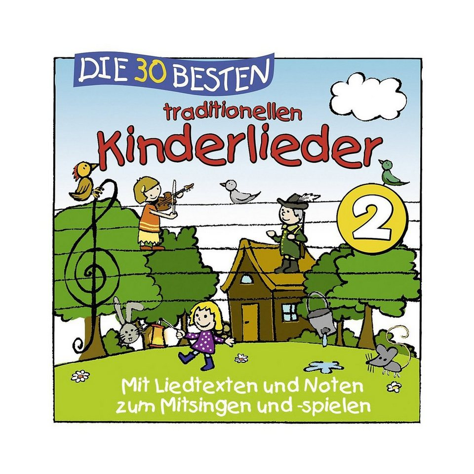 Universal Music GmbH CD Die 30 besten traditionellen Kinderlieder Vol.2