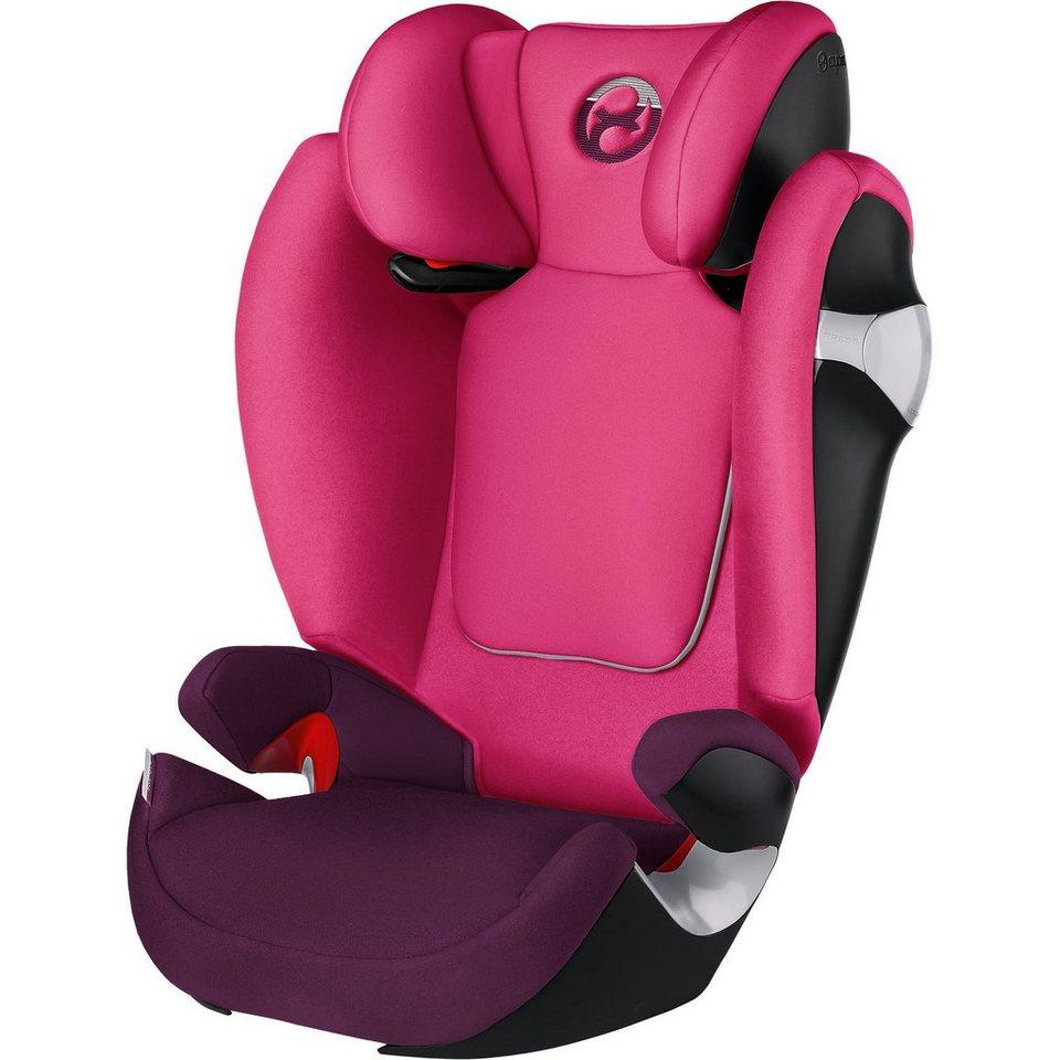 Cybex Auto-Kindersitz Solution M, Gold-Line, Mystic Pink-Purple, 2 in pink