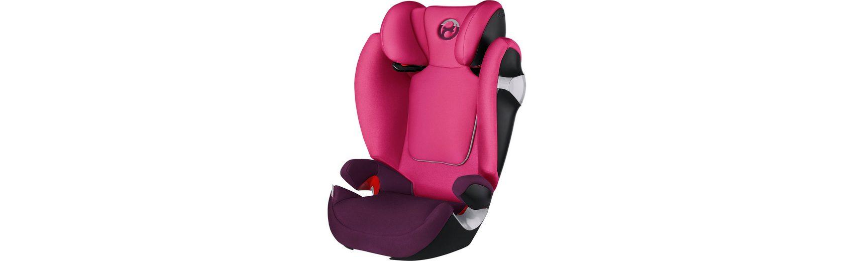 Cybex Auto-Kindersitz Solution M, Gold-Line, Mystic Pink-Purple, 2